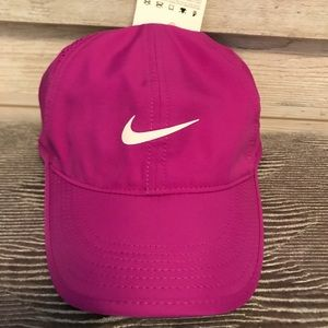Nike-dri fit hat, new with tags, pinkish purple